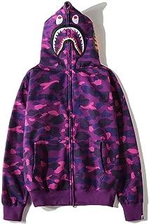Bape Shark Classic Pullover Hoodie Unisex Hooded Sweatshirt For Men And Women