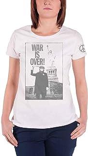 John Lennon T Shirt Liberty Lady War is Over Officiel Femme Skinny Fit