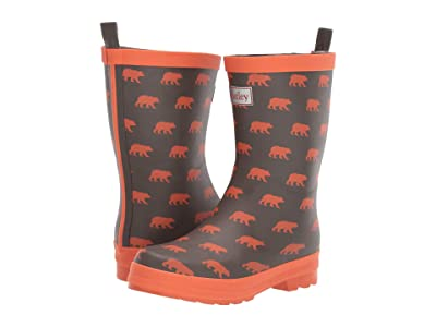 Hatley Kids Limited Edition Rain Boots (Toddler/Little Kid) (Silhouette Bears) Boys Shoes