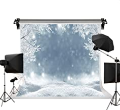 Kate 7x5ft/2.2m(W) x1.5m(H) Holiday Christmas Background Photography Winter Snow Scenery Seamless Cotton Backdrops Photography Studio