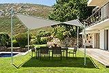 My garden Gazebo Vela, Ecrù, 400x400x270 cm