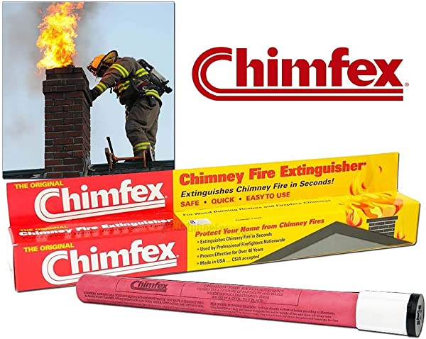 The Original Chimfex Chimney Fire Suppressent Stick 3412