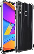 WOW Imagine Samsung Galaxy M10s / A20 / A30 Shockproof Back Cover Case | Flexible Protective Cushioned Edges Crystal Clear TPU Bumper Corners Back Case Cover for Samsung Galaxy A20 / A30 / M10s - Transparent
