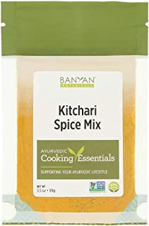 Banyan Botanicals Kitchari Spice Mix – 97% Organic Ayurvedic Spice Mix with Turmeric, Ginger & Brown Mustard Seed – for Di...