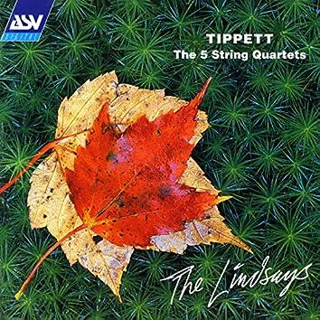Tippett: The 5 String Quartets