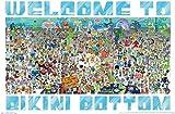 Trends International Nickelodeon Spongebob - Every Character Ever 19 Wall Poster, 22.375' x 34', Unframed Version