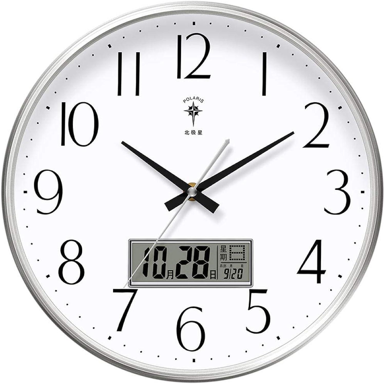 Con precio barato para obtener la mejor marca. Crhm Reloj De Parojo, Sala De Estar, Estar, Estar, Dormitorio, Oficina En Casa, Sala De Reuniones, Escala De Reloj Silenciosa, Grande, Fácil De Leer@15 Pulgadas_L09  Esperando por ti