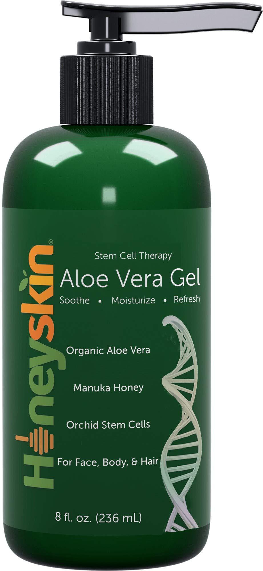 Natural Organic Aloe Vera Gel