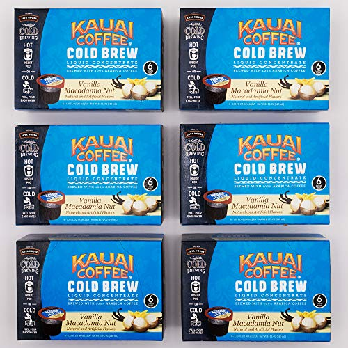 Kauai Coffee Single Serve Pods, 100% Premium Arabica Coffee from Hawaii's Largest Coffee Grower, Compatible with Keurig K-Cup Brewers