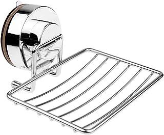 Fornateu Saugnapf Firm Seifenschale Halter Kosmetische Sundries Double Layer Abstellfl/ächen Badezimmer K/üche Organizer