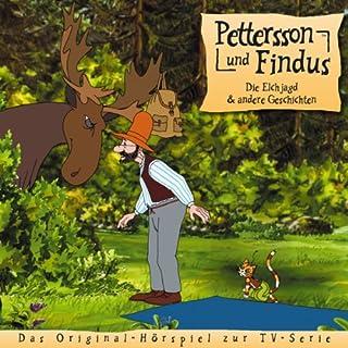 Die Elchjagd und andere Geschichten (Pettersson und Findus 4) Titelbild