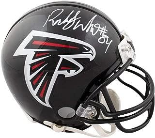 Roddy White Autographed Atlanta Falcons Mini Football Helmet - JSA COA