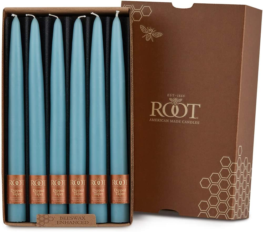 Boston Mall Root Candles Unscented Max 41% OFF Smooth Hand-Dipped Candle Taper 9-Inch 1