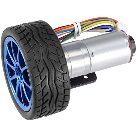 Baoblaze 6 X Dc Getriebemotor Getriebemotor 6 X Rad Elektronik