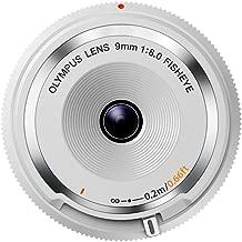 Olympus 9mm 1:8.0 Fish Eye Body Cap Lens - White
