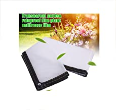 Transparante plastic blad, tarp, regenfilm, regendichte doek, balkon voorruit, vetplanten, kasfolie,4×8M