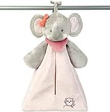 Doudou plano con sonajero elefante rose rosa//beige Nattou