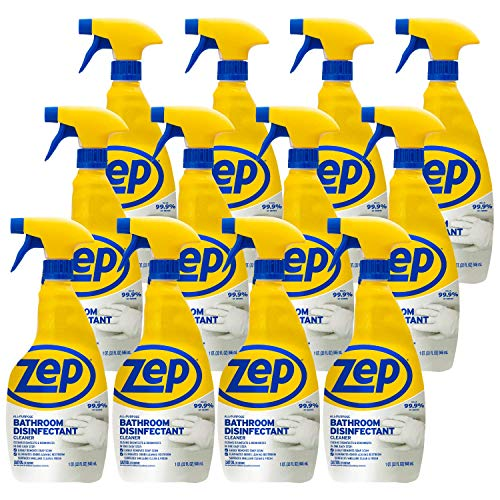 Zep All Purpose Surface Disinfectant ZUAPBD32 32 Ounce (Case of 12) Powerful Disinfecting Formula, Kills 99.9 Percent of Germs