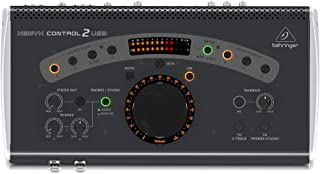 BEHRINGER power-amplifiers, Black (CONTROL2USB)