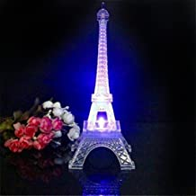 Lilone Metal Eiffel Tower with Light | Birthday Anniversary Valentine Gifts
