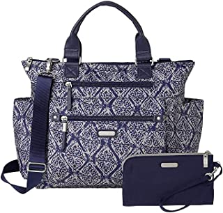 Baggallini Women's New Classic 3-in-1 Convertible Backpack with RFID Phone Wristlet