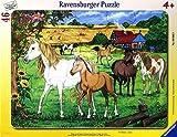 Ravensburger 06646 - Puzzle Cavalli al trotto