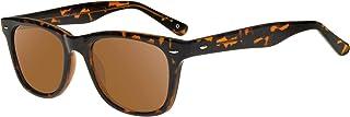 zerOne five - Gafas de sol modelo vela, forma clásica cuadrada, unisex