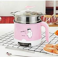 Hot Pot électrique Mini, 220V Multifonction électrique de Cuisson Machine Simple/Double Couche Disponible Hot Pot Multi él...