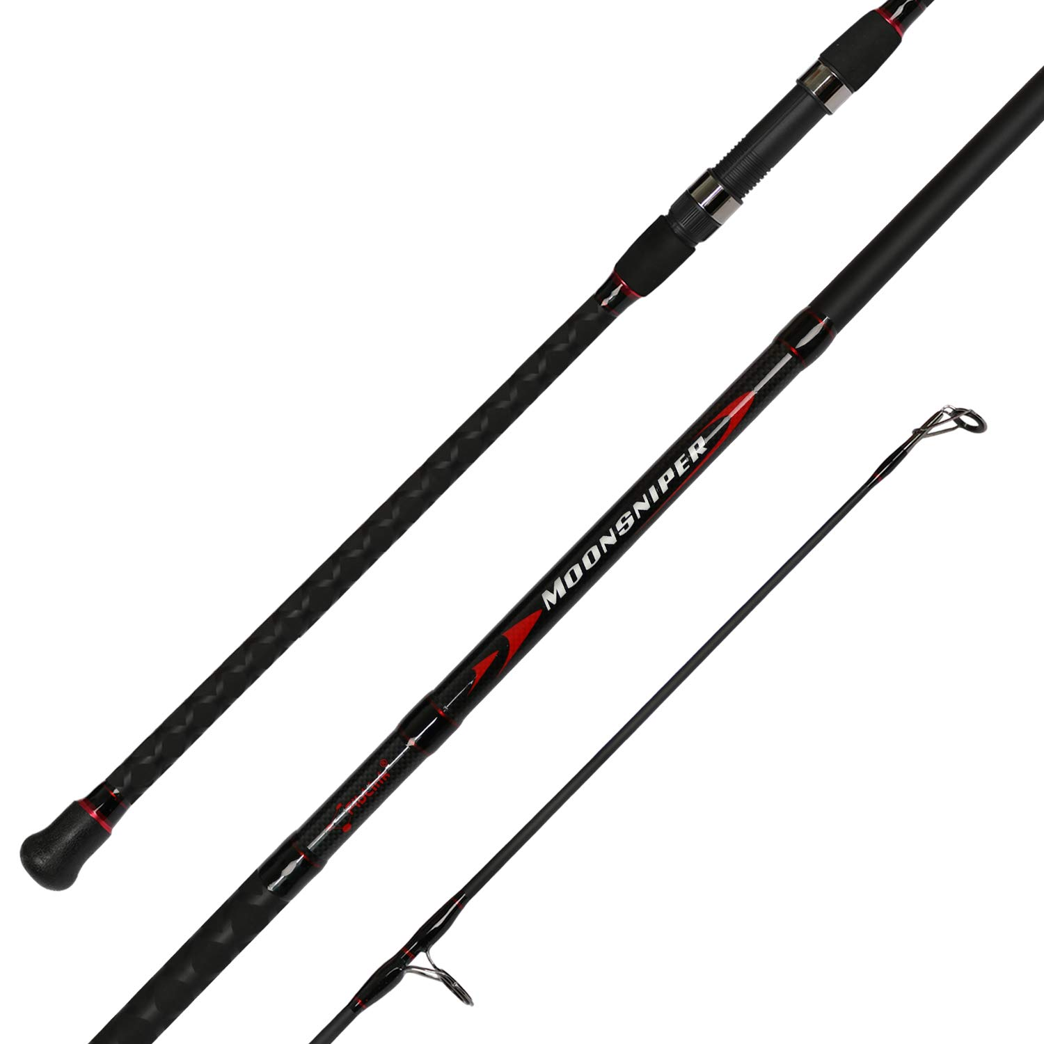 Fiblink Spinning Fishing 2 Piece Carbon