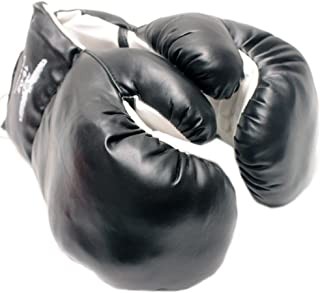 Rex 1 Pair Black 16oz Punching Boxing Gloves for Fighters