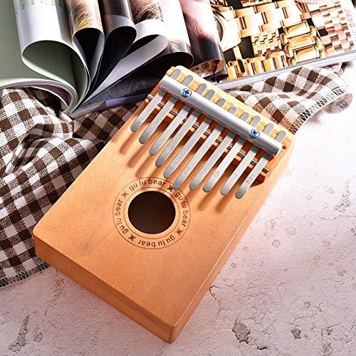 Banane Kalimba Daumenfinger-Klavier, 10 Tasten, Daumenklavier aus Holz, Kalimba, Musikinstrument für Kinder, Spielzeug, für Kinder, atemberaubend