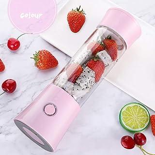 ERKEJI Batidoras de vaso Mini exprimidor portátil de licuadora licuadora Smoothie fabricante con 6 cuchillas 480