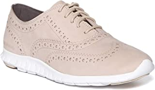 Cole Haan Off White Colorleather Women Lace Up Leather Sneakers