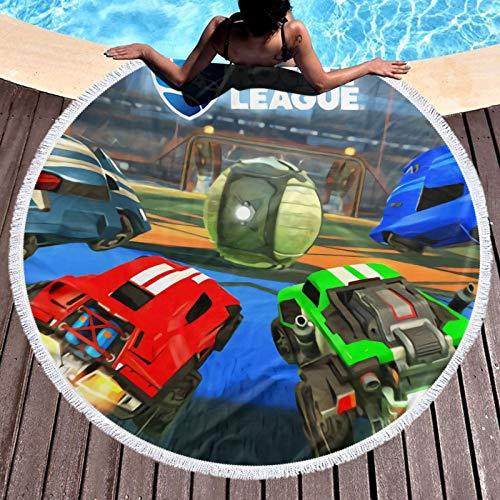 R-ocket L-eague - Toalla de playa, ligera, resistente al cloro, toalla de piscina, perfecta para tumbonas, toallas de baño, playa y gimnasio