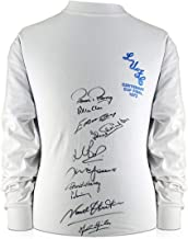 Leeds United Soccer Jersey Signed By Ten Of The 1972 Squad | Autographed Memorabilia