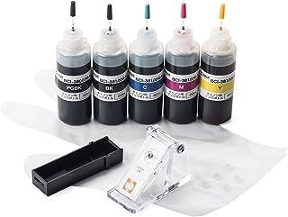 イーサプライ 詰め替えインク キャノン BCI-380 BCI-381 XKI-N10 XKI-N11 5色パック 工具付き EZ3-C380381