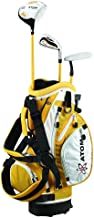 """Atom Complete Junior Golf Set, Youth 36-45"""" Tall, Ages 3-6, Right-Handed"""