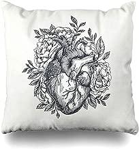 K.e.n Funda de Almohada de Tiro Día de San Valentín Humano Corazón ...