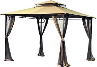 Garden Winds Replacement Canopy for The Bamboo Look Gazebo - 350