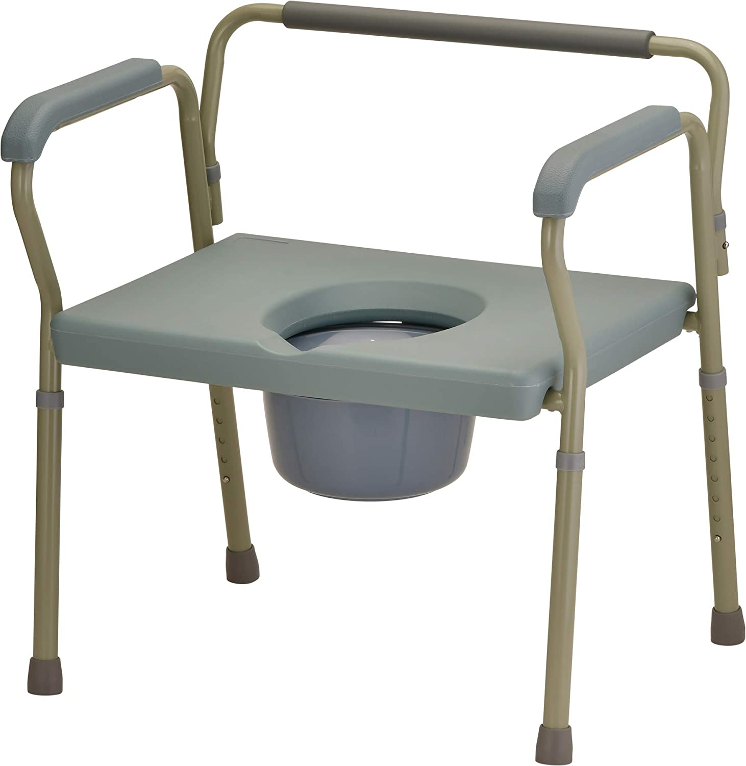 NOVA Heavy Duty Bedside Commode Animer and price revision Extra lb. Wide Weight Seat Free shipping on posting reviews 500