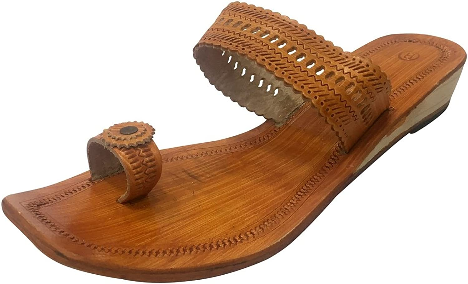 4309de9514ca8 Step n Style Indian Leather Kolhapuri Slipper Ethnic Kolhapuri ...