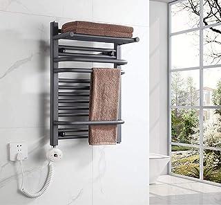 Toallero HLF eléctrico de Acero con bajo Contenido de Carbono - Radiador termostato montado en la Pared IPx4 Estante Estante de baño a Prueba de Agua Estante de la Cocina del baño