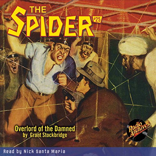 Spider #25, October 1935 (The Spider) cover art