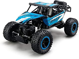 STOTOY Remote Control Cars,RC Rock Off-Road Vehicle 2.4Ghz 4WD Fast Speed Racing Cars (Blue)