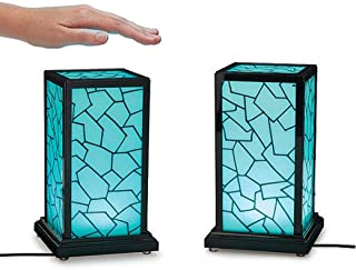 Long Distance Friendship Lamp Gift Touch Wi-Fi in-Sync Set of 2 UncommonGoods