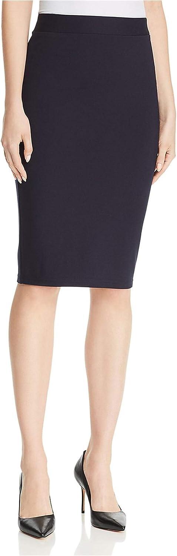 TAHARI Womens Solid Pencil Skirt