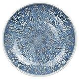 Porcelain plate, Japanese Style Cerami 15 pulgadas de gran tamaño Super Extra Extra Gran Cuenco de mezcla Grande Capacidad Ensalada de fruta Cuenco Fideos Verduras Cuenca Decoración Colección Contened