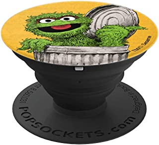Sesame Street Oscar the Grouch - PopSockets Grip and Stand for Phones and Tablets
