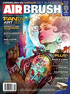 Airbrush Action Magazine July August 2017