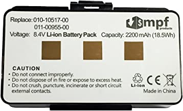 Replacement 2200mAh 010-10517-00, 010-10517-01, 011-00955-00 Battery for Garmin GPSMAP 276, 276c, 296, 376, 376c, 378, 396, 478, 496 GPS Devices